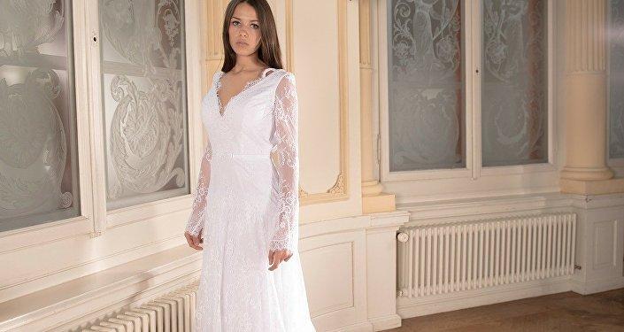 Une jeune mariée