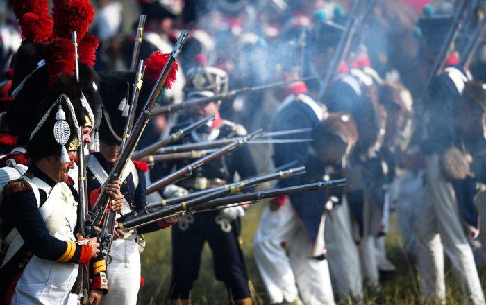 Une reconstruction historique de la bataille de Borodino, 2018