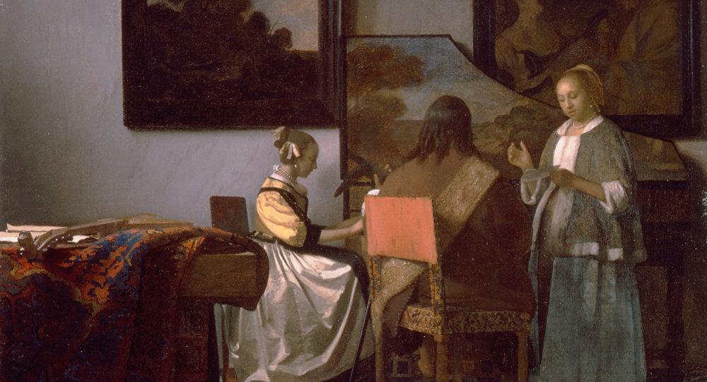Vermeer Le Concert