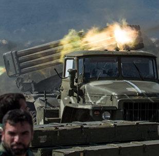 L'armée gouvernementale syrienne dans la province d'Idlib