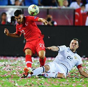 Match de la Ligue des nations opposant la Turquie à la Russie