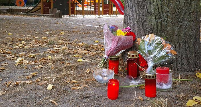 Commémorations après le meurtre d'un Allemand de 22 ans à Köthen, Allemagne