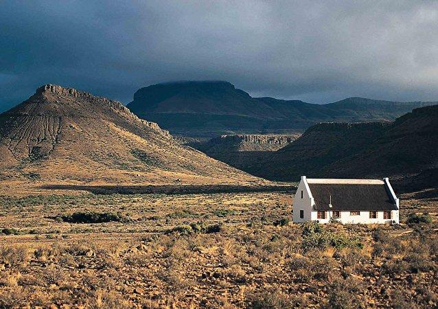 Une ferme en Afrique du Sud