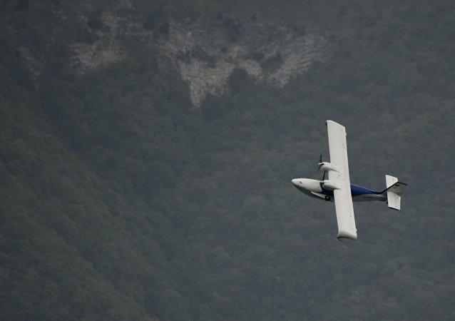 Un avion amphibie SK-12 Orion