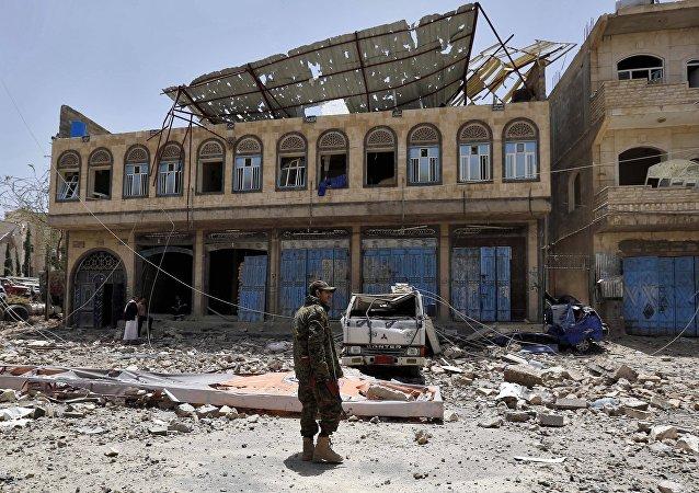 Situation au Yémen. Photo d'archive