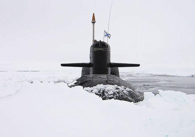 Un sous-marin nucléaire