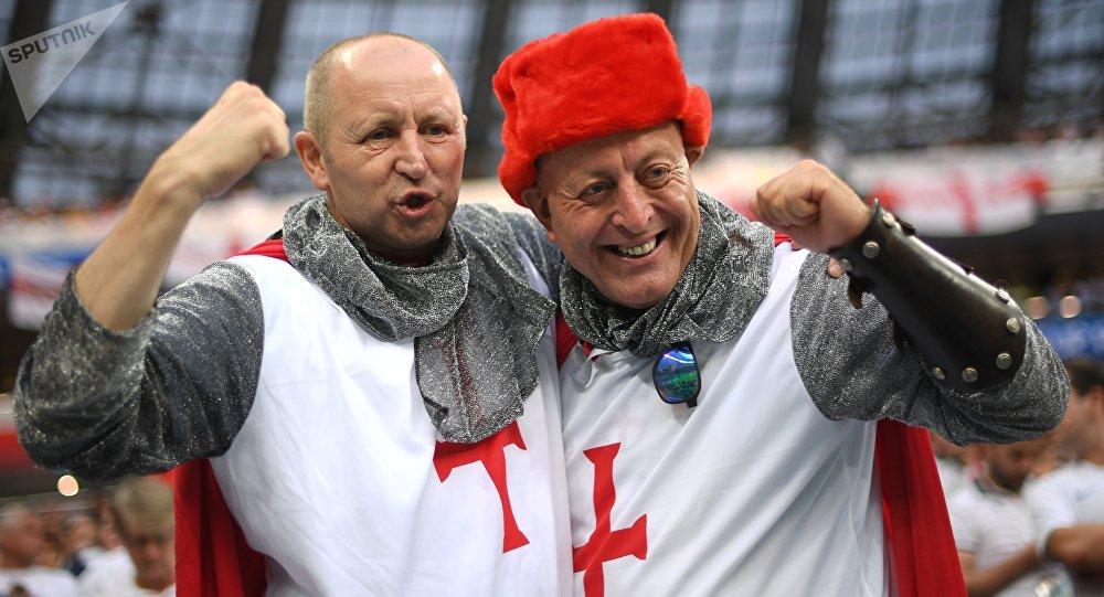 Des fans britanniques