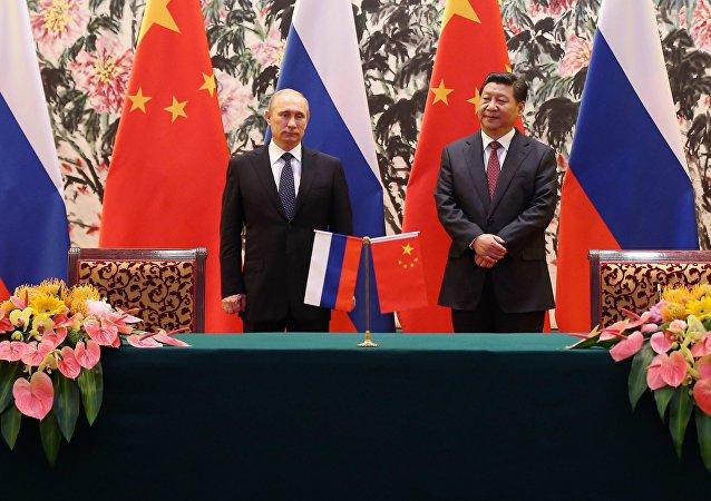 Xi Jinping et Vladimir Poutine. Photo d'archive