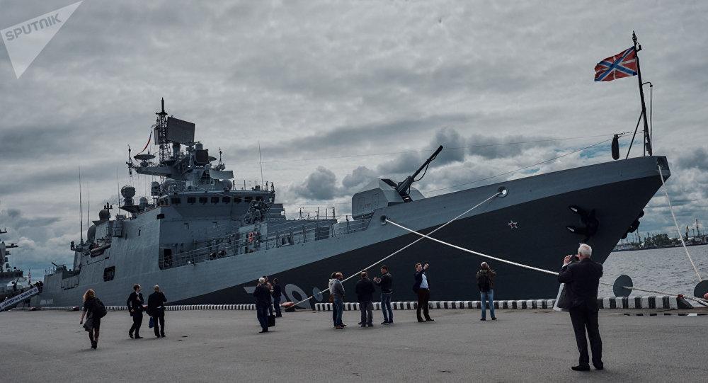 Une frégate russe du projet 11356