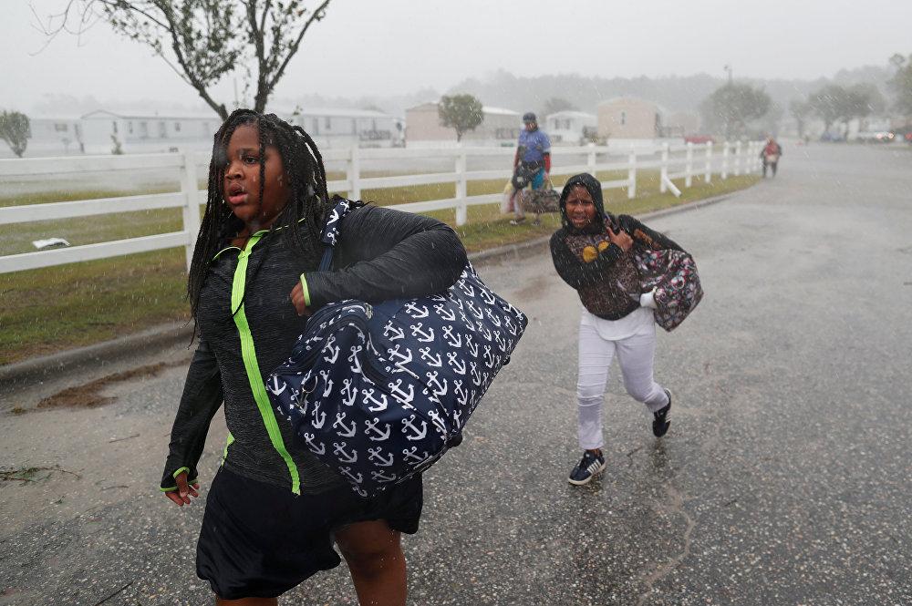 L'Ouragan Florence: conséquences du sinistre