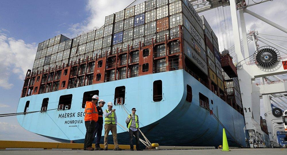 Le Port de Baltimore. Photo d'archive