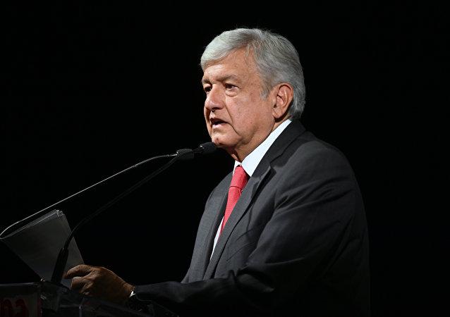 Andres Manuel Lopez Obrador, nouveau Président mexicain