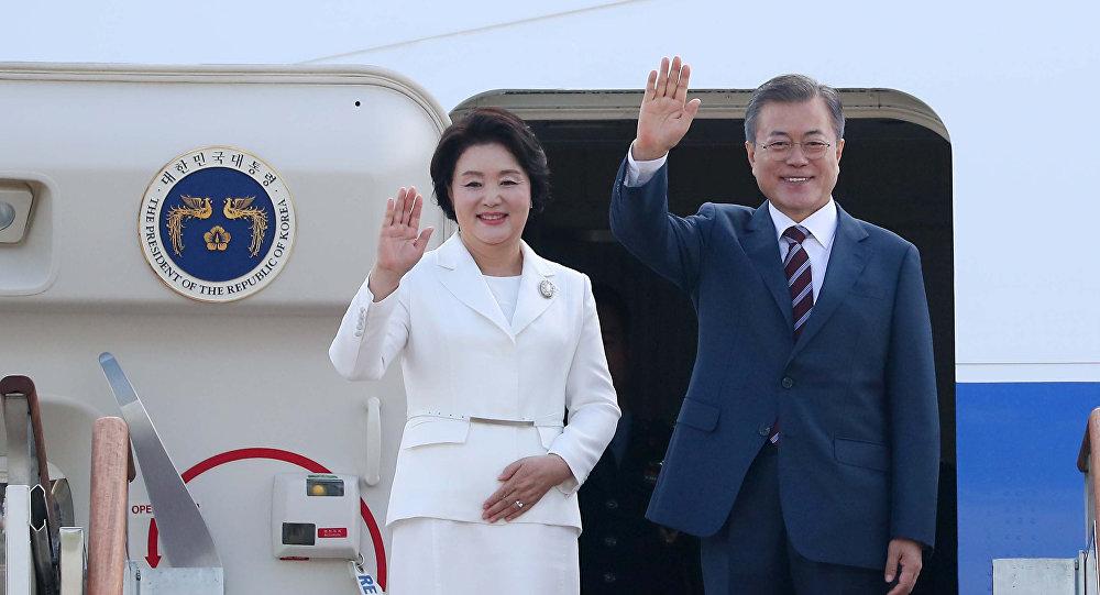 Moon Jae-in à Pyongyang