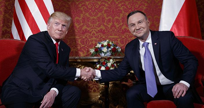 Andrzej Duda et Trump