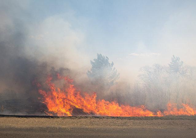incendie, image d'illustration