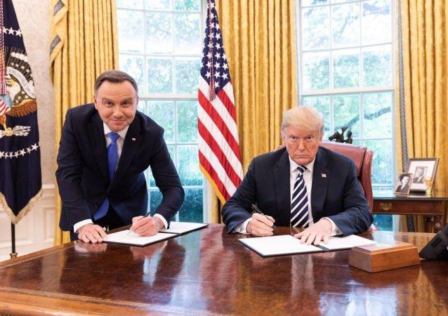 Andrzej Duda et Donald Trump