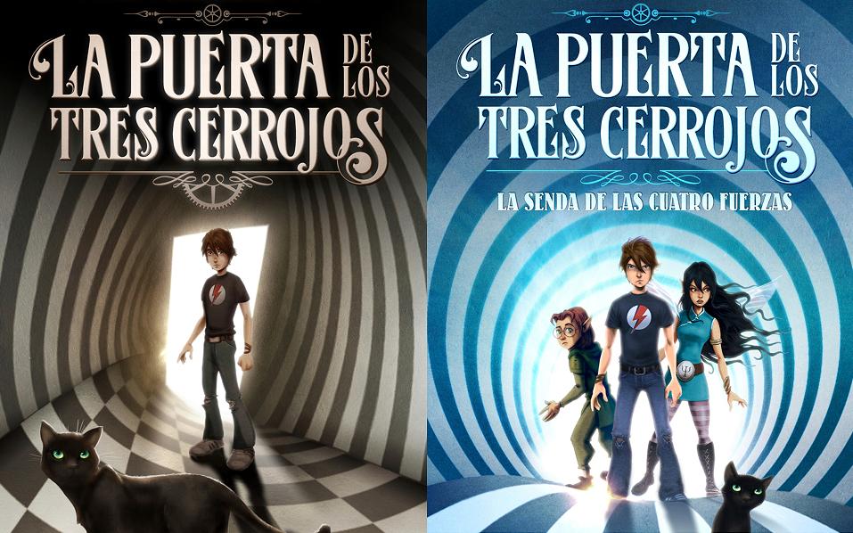 «La puerta de los tres cerrojos» («Porte à trois serrures»), livre de Sonia Fernandez-Vidal