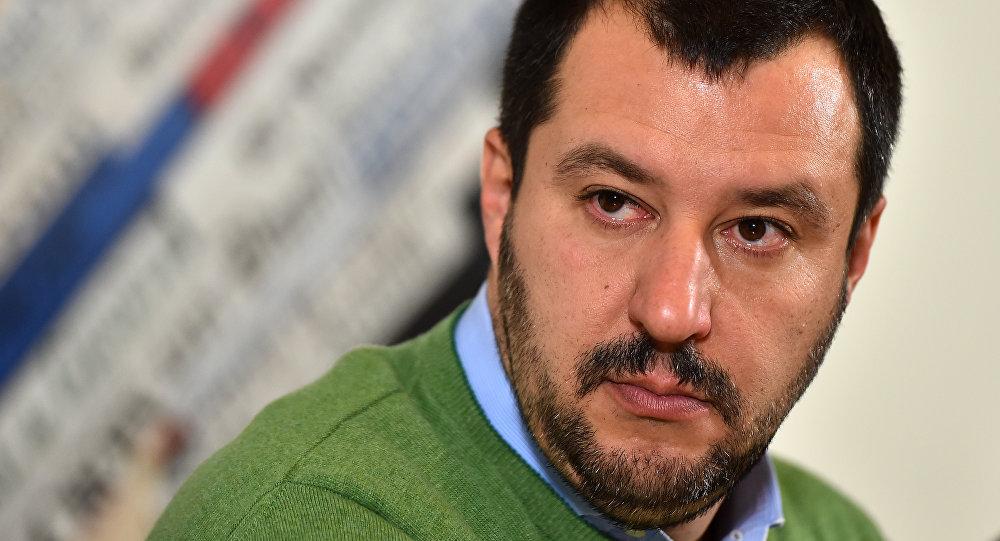 À Rome, Le Pen et Salvini partent à l'offensive contre Bruxelles