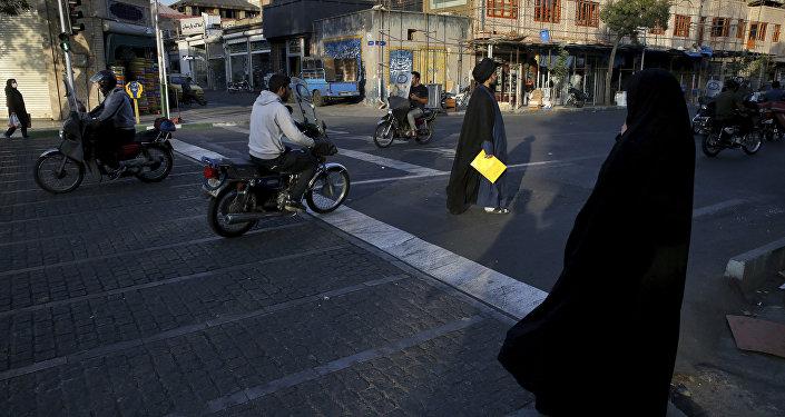 Téhéran, Iran. Photo d'archive