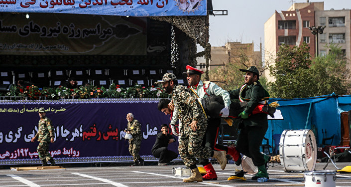 Attaque lors d'un défilé militaire à Ahvaz (22 septembre 2018)
