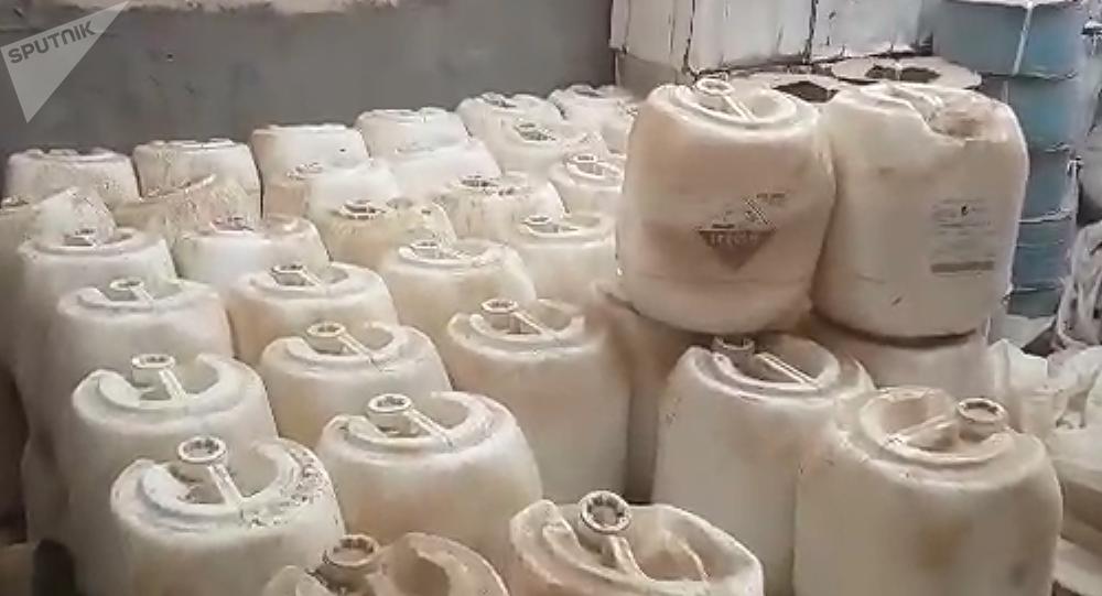 Armes chimiques découvertes en Irak