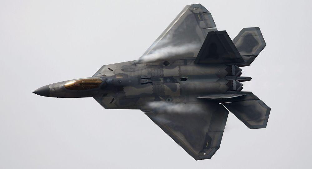 Un F-22 Raptor américain