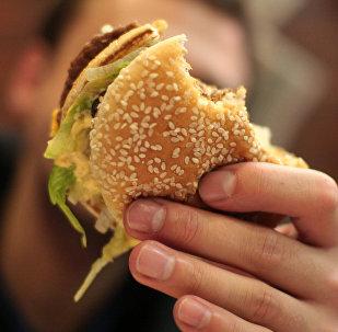 Un hamburger (image d'illustration)