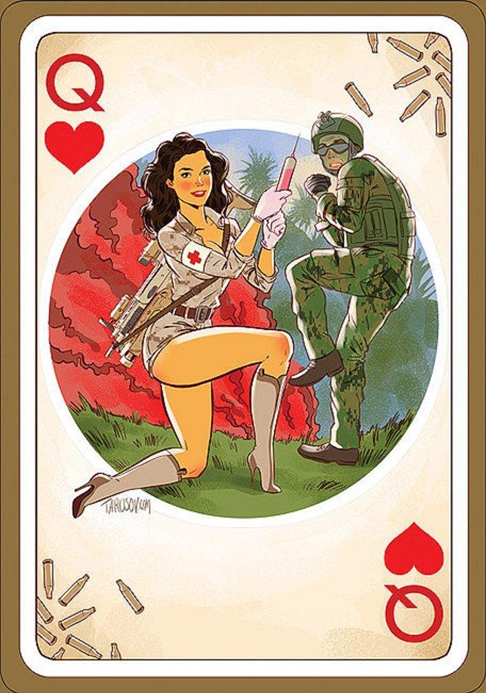 Les soldats américains vont-ils jouer aux cartes «russes»?