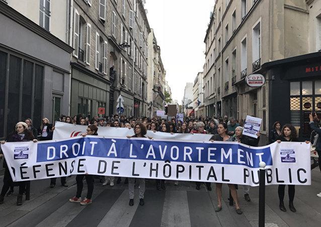 Journée internationale pour le droit à l'avortement, 28 septembre 2018, Paris