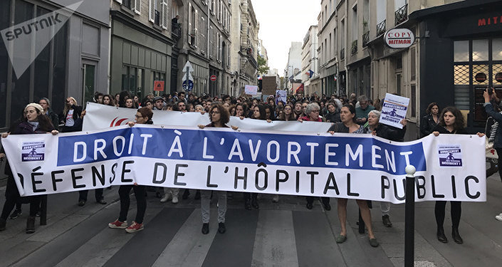 Journée internationale pour le droit à l'avortement, 28 septembre 2018, Paris