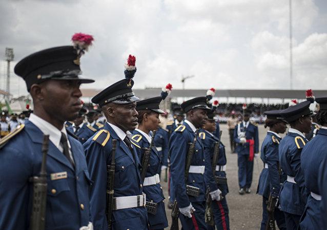 défilé militaire, Nigeria