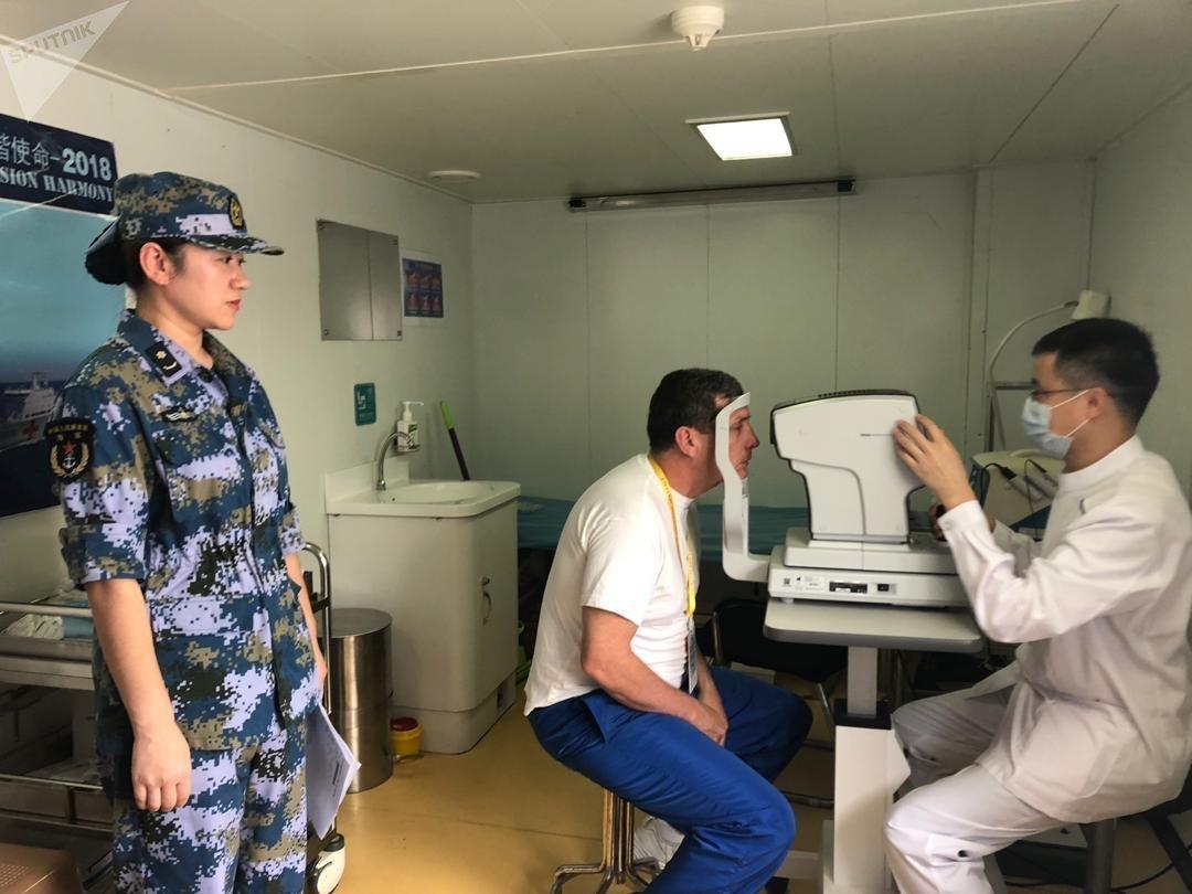 Un navire-hôpital chinois au Venezuela