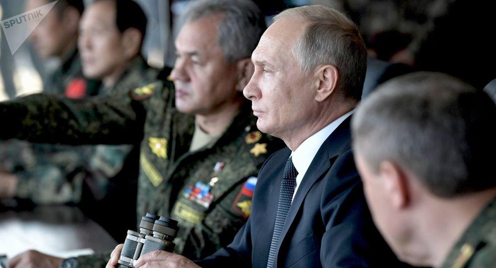Vladimir Poutine et Sergueï Choïgou / image d'illustration
