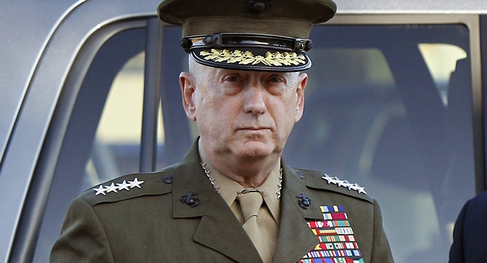 James Mattis. Photo d'archive