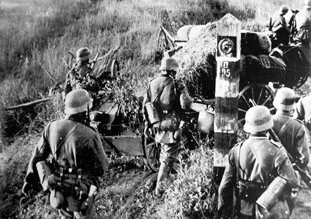 Les forces allemandes à la frontière soviétique, le 22 juin 1941