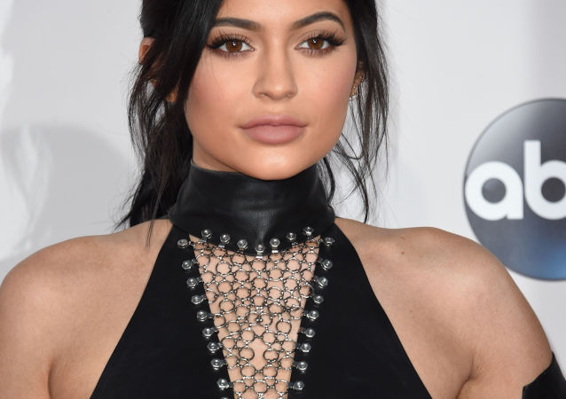 Kylie Jenner attends the 2015 American Music Awards at the Microsoft Theater at L.A. Live in Los Angeles, California.