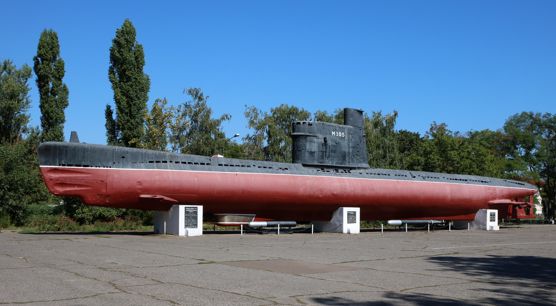 Un sous-marin soviétique du projet A615