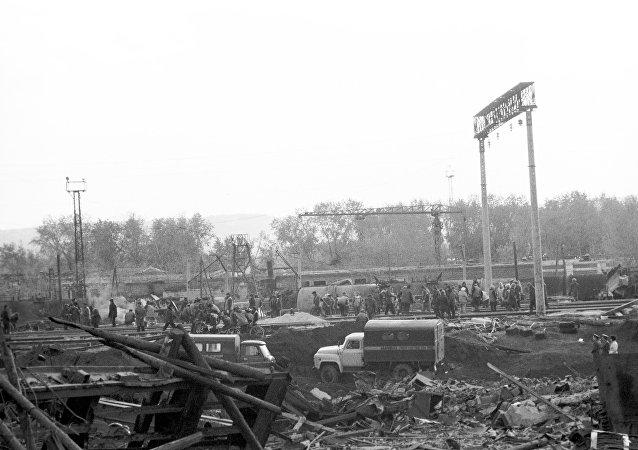 4 octobre 1988, une explosion a retenti à Sverdlovsk