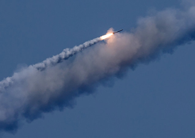 Un tir de missile Kalibr