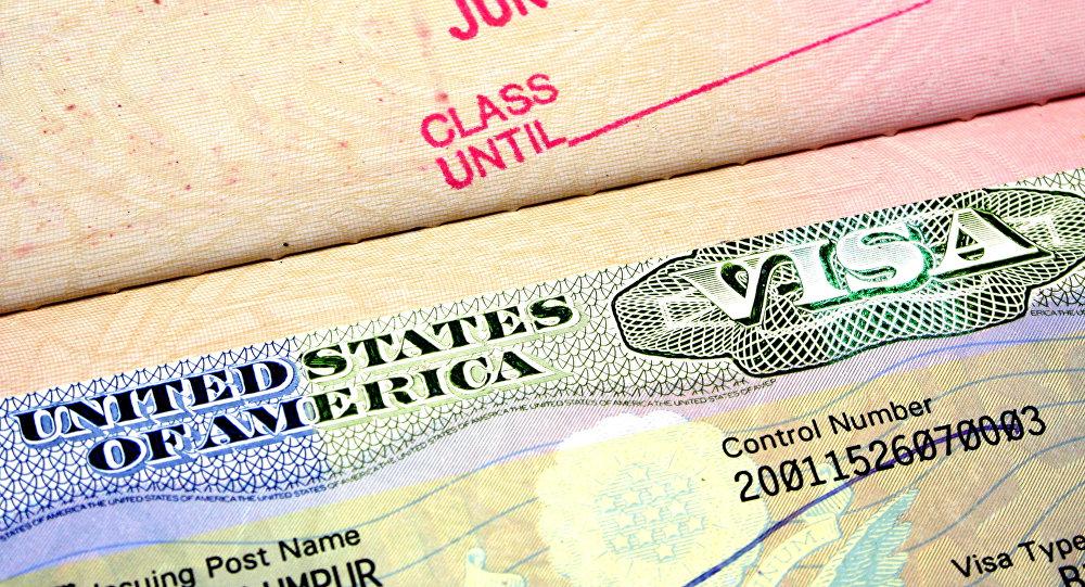 Visa US (Image d'illustration)
