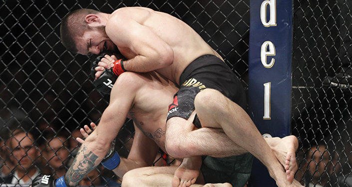 Khabib Nurmagomedov et McGregor