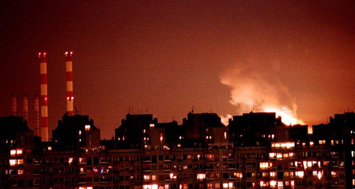 bombardements otaniens de la Yougoslavie