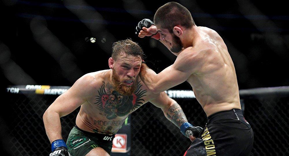 Khabib Nurgamedov contre Conor McGregor