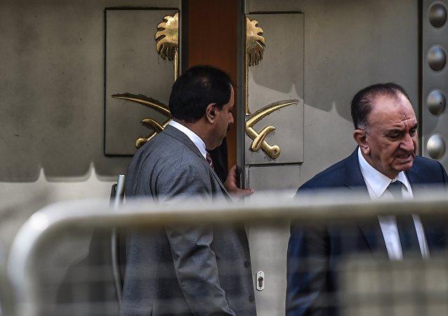 consulat de l'Arabie saoudite à Istanbul