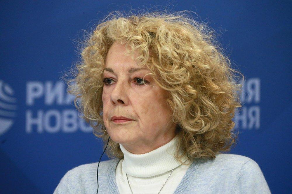 Marie Bellegou, petite-fille du soldat Fiodor Mamontov