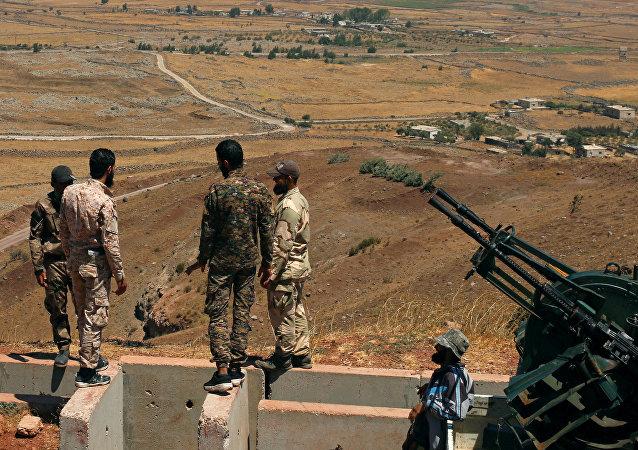 Combattants de l'armée syrienne libre