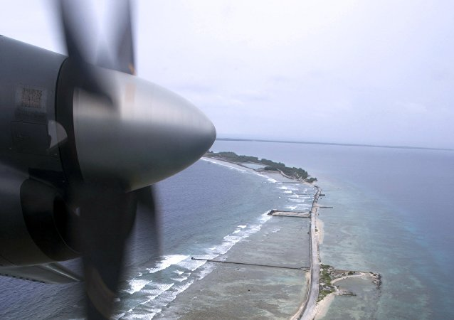 Moruroa, atoll en Polynésie française