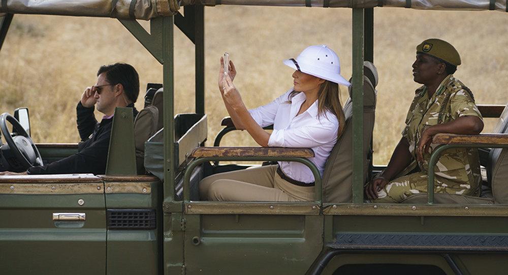 Melania Trump en Afrique