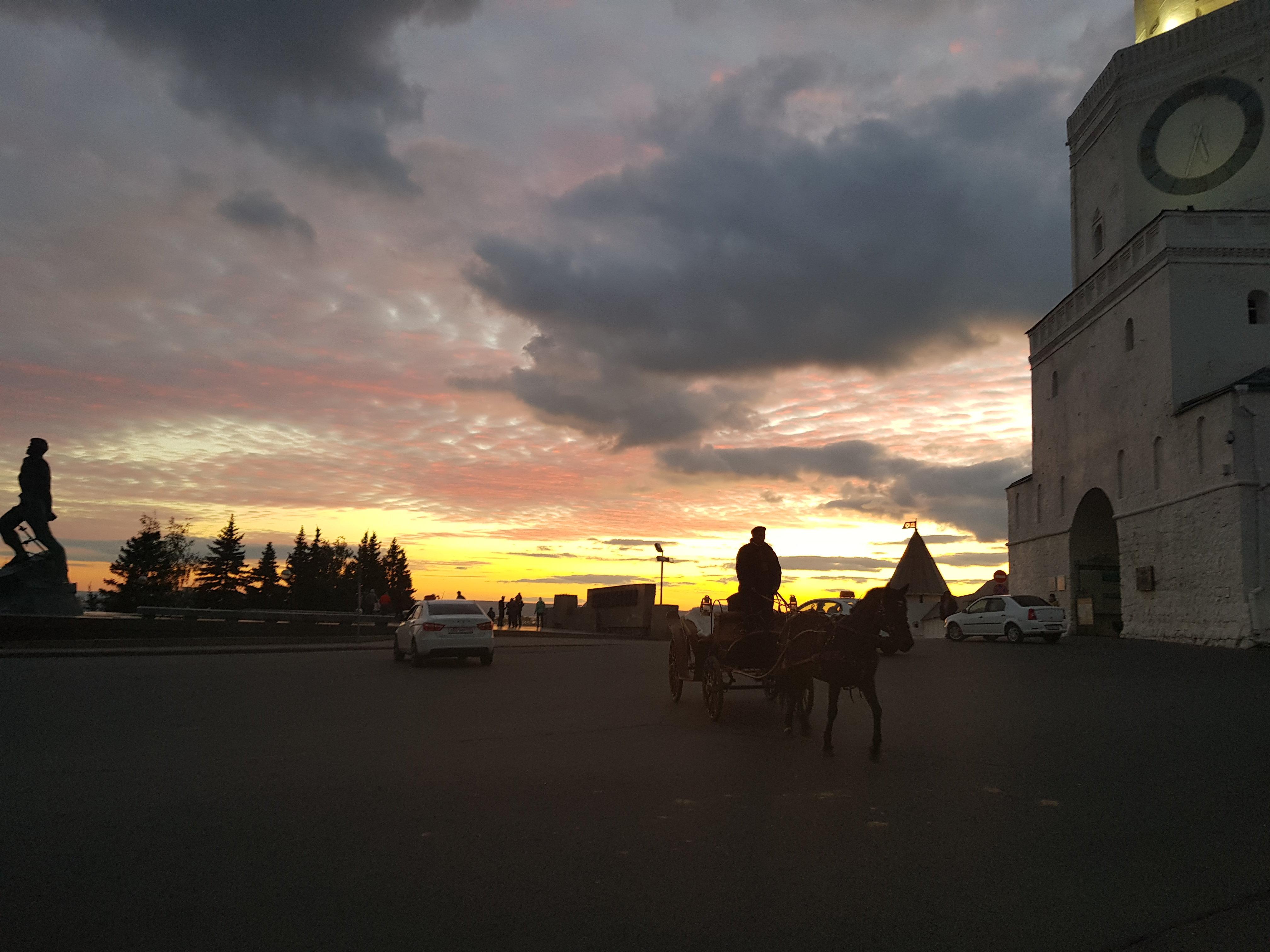 Près du Kremlin de Kazan
