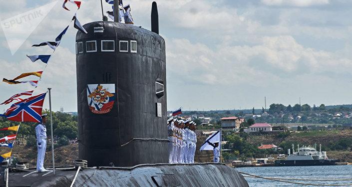 Le sous-marin diesel-électrique Krasnodar